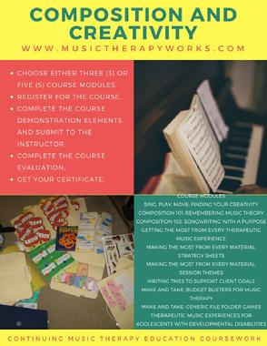 CMTE, music therapy courses,